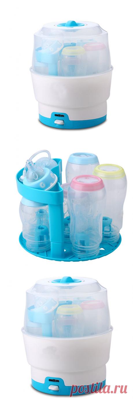 baby bottle sterilizer steam sterilizer at Banggood