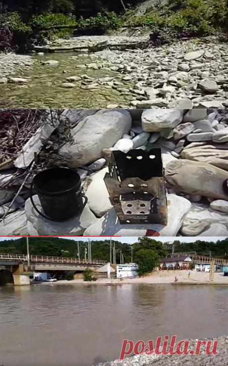 Как маленькая речка Шепси превратилась в бурный поток и чуть не унесла в море | путешествуем онлайн | Яндекс Дзен