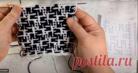 Шикарный мозаичный узор (Вязание спицами) – Журнал Вдохновение Рукодельницы