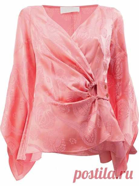 Интересные идеи блузок с запахом — Сделай сам, идеи для творчества - DIY Ideas