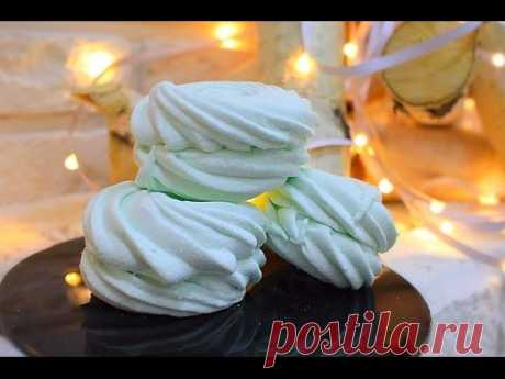Лаймовый зефир / Key lime Marshmallows