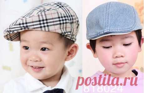 Кепка детская   PP: от 1 до 2 лет  P: 4-8 лет,  М: 10-12 лет,  G: от 14 до 16 лет