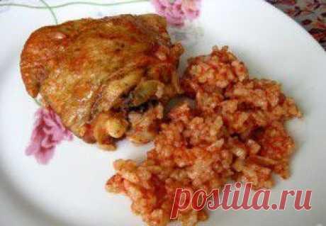 Курица с томатным рисом — вкусно и оригинально|Семейные советики