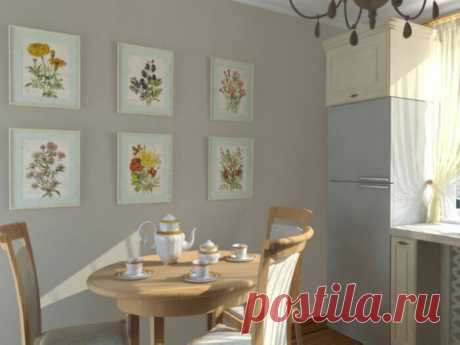Как украсить интерьер кухни картинами: советы и фото!   Lavanda-decor   Яндекс Дзен