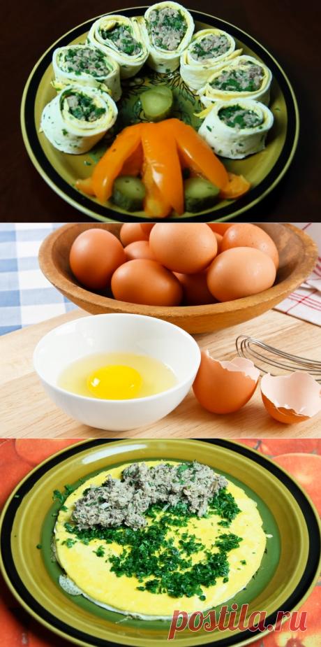 Завтрак из трех яиц «Придумщица»: можно экспериментировать каждый раз