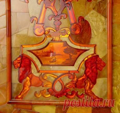 unique19111 Ha conservado () Pin a la tabla «The Amber Room». \u000d\u000aDetail of mosaic from the opulent Amber Room, part of an 18th century Russian castle.   Pinterest • el catálogo Mundial de las ideas