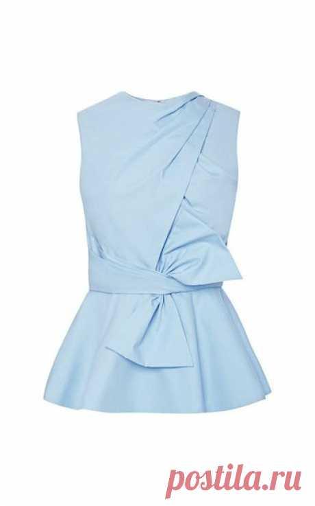 #Детали_моды: интересный крой блузок