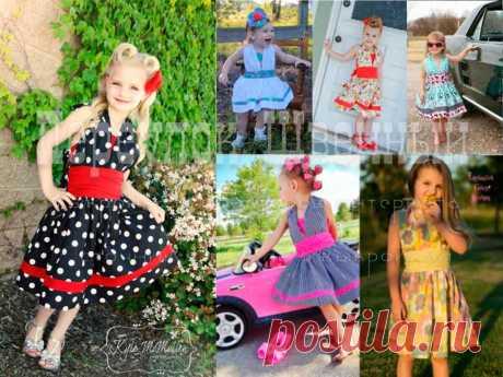 Выкройка детского платья стиляги - Переулок швейный