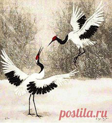 Журавли - (Песня на стихи Людмилы Кузнецовой)