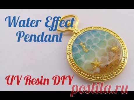 UV Resin Water Effect Pendant DIY