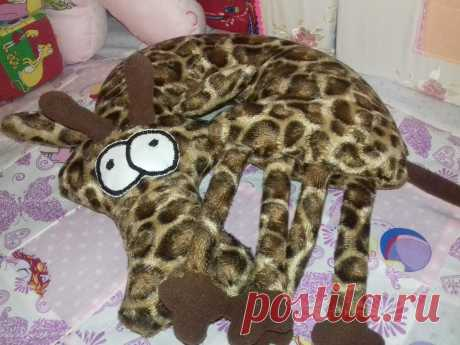 подушка-жираф
