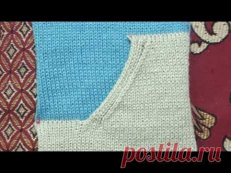Side Pocket design in knitting machine (निटिंग मशीन में जेब का डिजाइन )