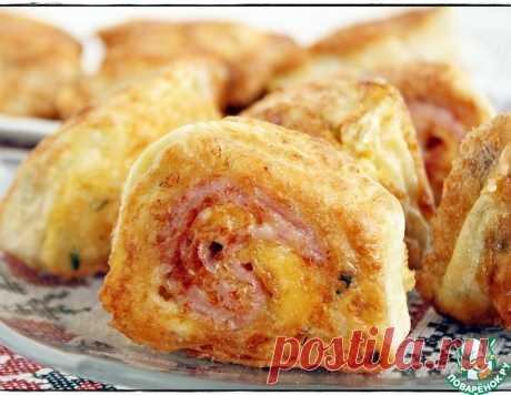 Рулетики с картофелем в лаваше – кулинарный рецепт