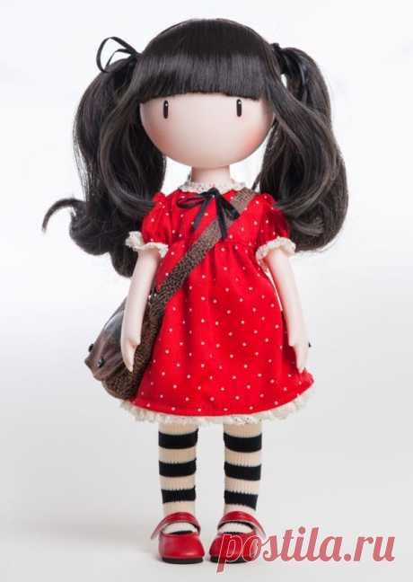 Интерьерная кукла Элли с выкройкой (по мотивам иллюстраций Gorjuss Сьюзен Вулкотт)