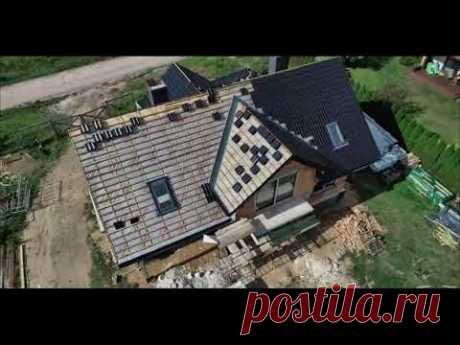 Построили дом 242м2 в карантин из керамоблока