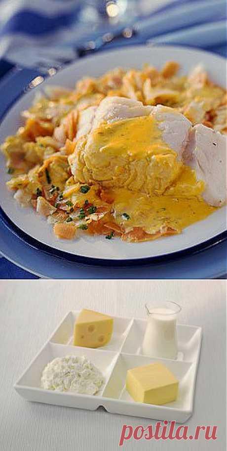Сырный соус для мяса и овощей - рецепты -