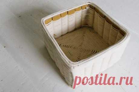 Ненастоящая корзинка (Diy) / Организованное хранение / ВТОРАЯ УЛИЦА