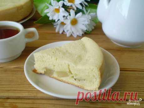 Пирог из бисквитного теста с начинкой - пошаговый кулинарный рецепт с фото на Повар.ру
