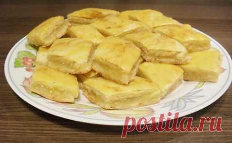 Быстрый лимонный пирог