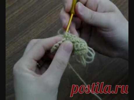 вытянутые петли (искусственный  мех) DeliciousCrochet | Loop Stitch