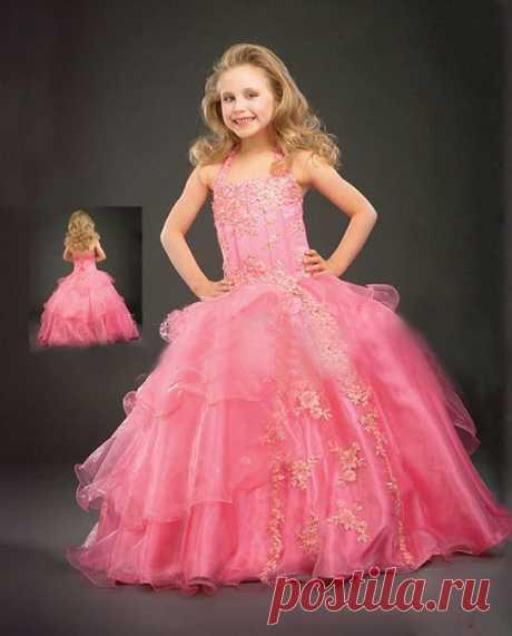 Платье ( ChiL 10 ) Размер: 80, 90  100, 110, 120, 130, 140,150,160 Материал : сатин + атлас