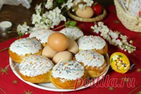 Пасхальные булочки - рецепт с фото
