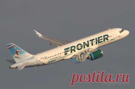 Фото Frontier AA32 (N351FR) - FlightAware