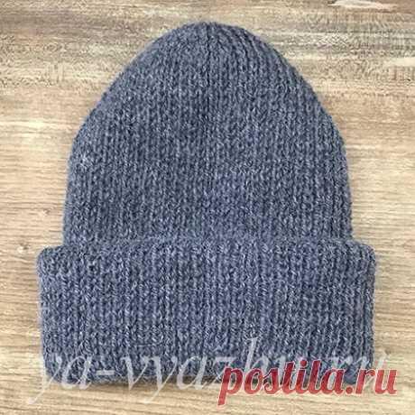 Вязаная спицами женская шапка (три экземпляра) | Вязальное настроение...