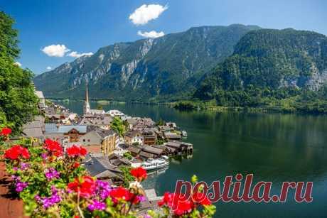 Гальштат — это затерянная среди Альп идиллическая, магическая и пасторальная деревня. Часть 1.