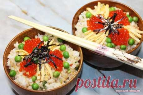 Японская кухня: Чираши Суши - рецепт на Российский Wok-Shop