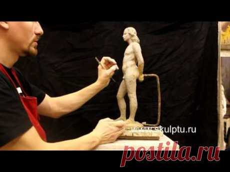 Molding of a figure of the person. Part IV