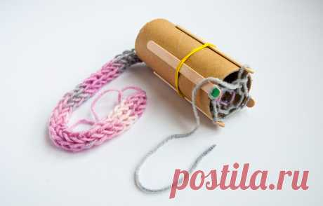 Плетение шнурка на самодельном луме | Вяжи Онлайн | Яндекс Дзен