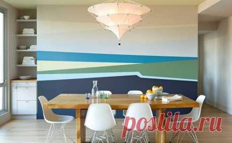 идеи покраски стен в квартире своими руками: 5 тыс изображений найдено в Яндекс.Картинках