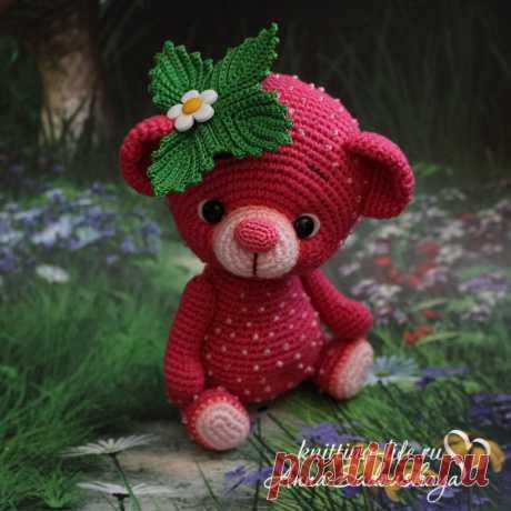 Мишка-ягодка - Мишкина берлога - Вязаная жизнь | игрушки