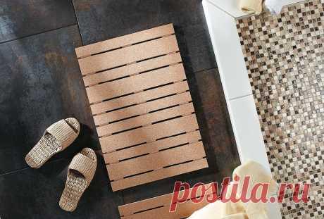 Коврики для ванной своими руками: 8 идей с инструкциями — Мастер-классы на BurdaStyle.ru