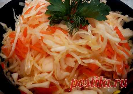 Научилась мариновать капусту с горчицей. Делюсь своим новым рецептом | Вкусно и полезно | Яндекс Дзен