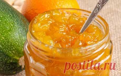Варенье с кабачком, орехом и лимоном — Sloosh – кулинарные рецепты