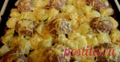 Мясные ежики с картошкой под сырной шубкой: блюдо без хлопот - Вкусные рецепты - медиаплатформа МирТесен