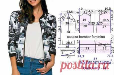 Шьем красивые курточки. Идеи и выкройки #прошитье #куртка