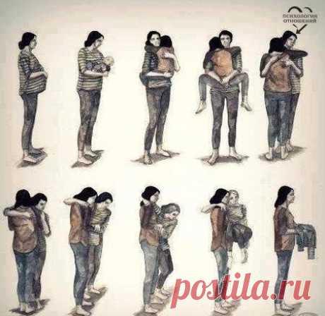 Вся жизнь мамы в одной картинке