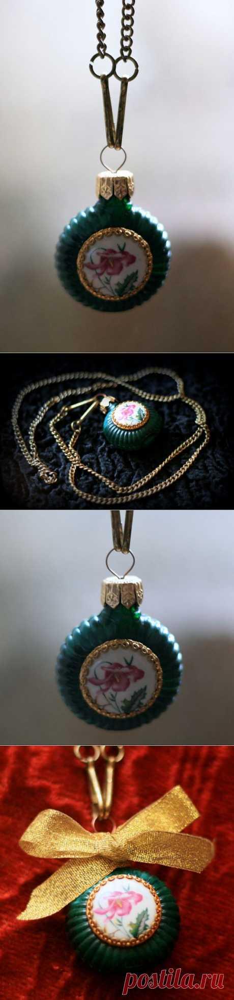 Флакон-кулон (DIY) / Украшения и бижутерия / Модный сайт о стильной переделке одежды и интерьера
