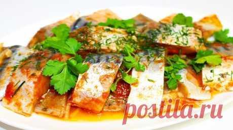 Великолепная скумбрия в томате: обалденно нежная, невероятно ароматная, с насыщенным вкусом