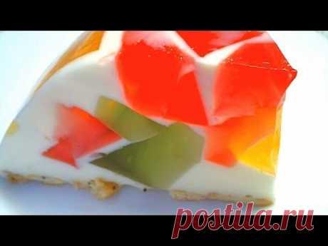 Торт «Самоцветы в снегу» / Простые рецепты
