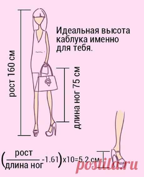 Вот как правильно подобрать туфли на каблуке! Выбираю только такие. – В Курсе Жизни