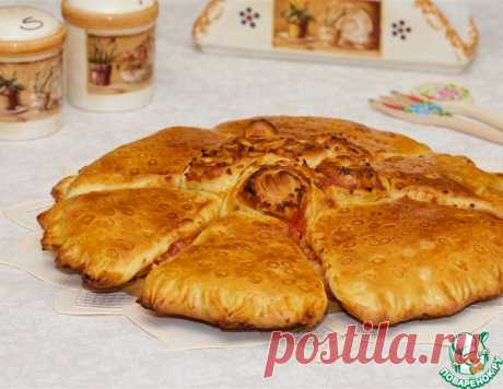 Порционная пицца-пирог – кулинарный рецепт