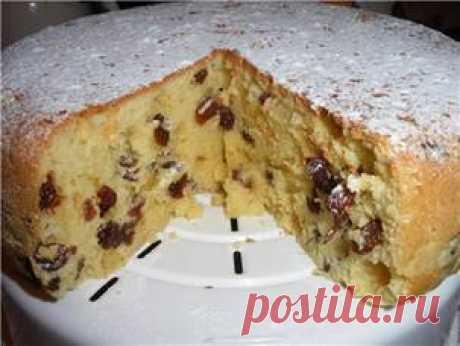 El pastel en la multicocción -