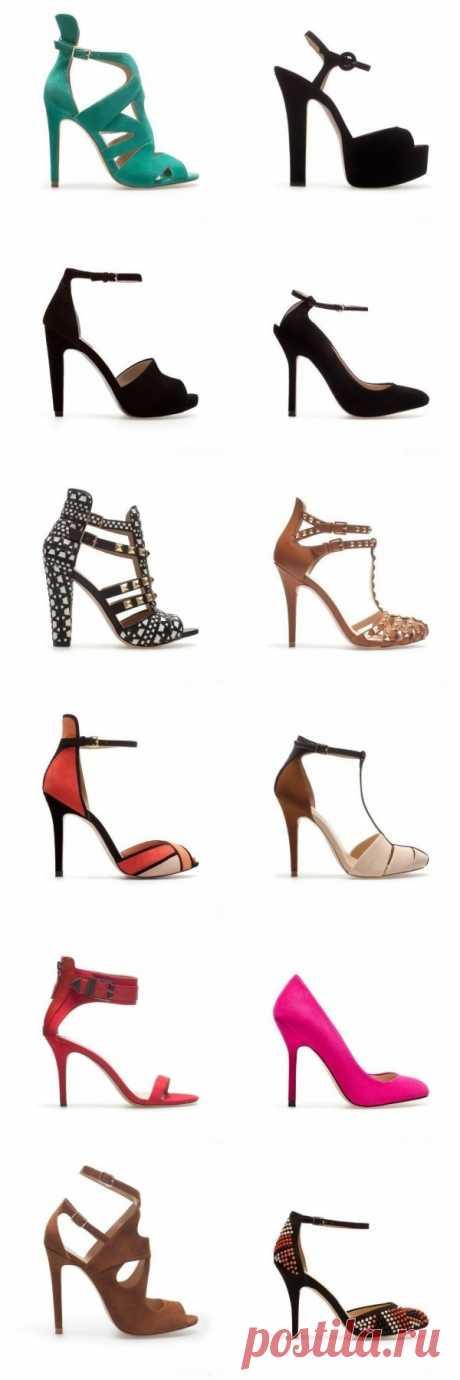 La marca Zara ha presentado la colección del calzado la primavera-verano 2013