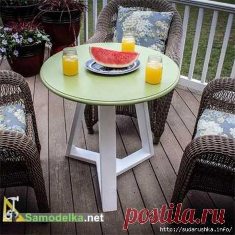 Стол для дачи от Samodelka.net