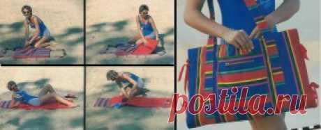 Пляжная сумка | ОБНОВКА СВОИМИ РУКАМИ