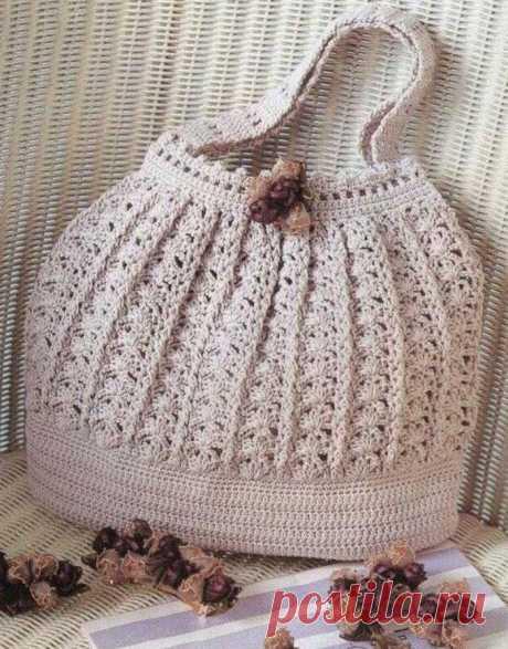 Вязаная сумка своими руками крючком – схемы вязания по японским мотивам